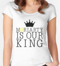 Moriarty Is Our King Women's Fitted Scoop T-Shirt