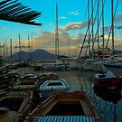 .. an evening view on the magic and beautiful little harbour at Borgo Marinara (Naples, Italy) ~ 1 by Rachel Veser