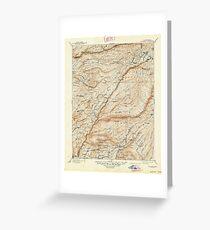 USGS TOPO Map California CA Big Trees 299226 1901 125000 geo Greeting Card