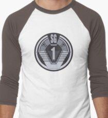 Stargate SG-1 badge Men's Baseball ¾ T-Shirt