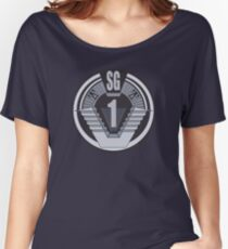 Stargate SG-1 badge Women's Relaxed Fit T-Shirt