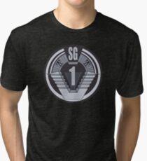 Stargate SG-1 badge Tri-blend T-Shirt