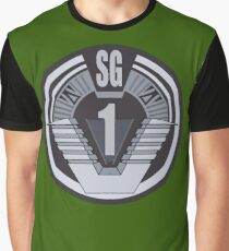 Stargate SG-1 badge Graphic T-Shirt