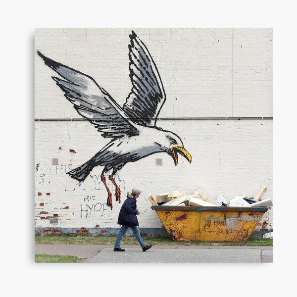Banksy - Seaside Seagull Canvas Print