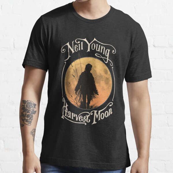 Neil Young Harvest Moon  Sticker Hoodie Mask  Essential T-Shirt