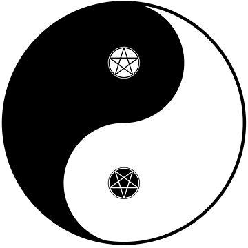 Wicca Yin Yang von ToriMichelle