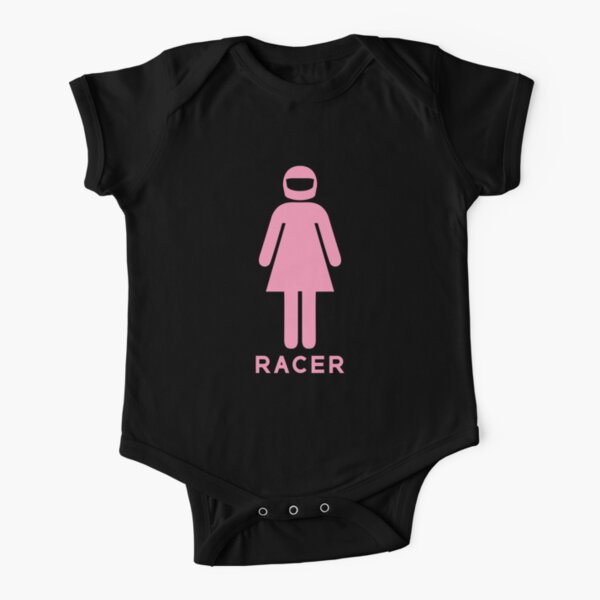 Femme Racer (1) Body manches courtes