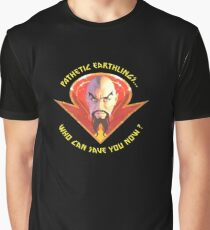 Ming the Merciless - Pathetic Earthlings Variant Three Graphic T-Shirt