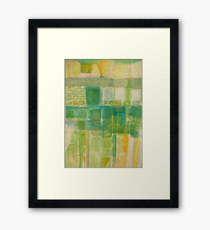 block 1 Framed Print