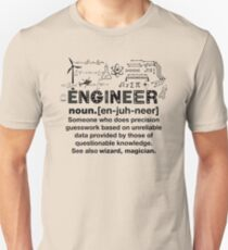 Funny Definition Of An Engineer Unisex T-Shirt