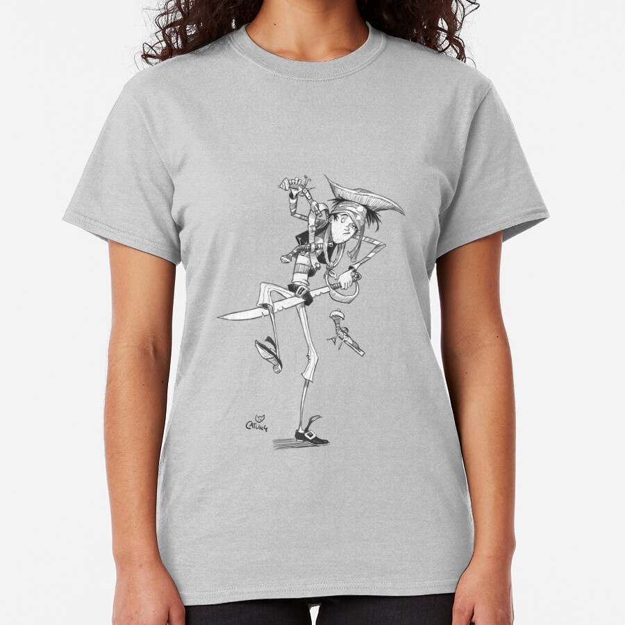 Clumsy Pirate Classic T-Shirt