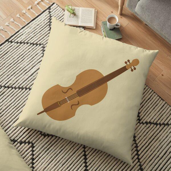 Cello Floor Pillow