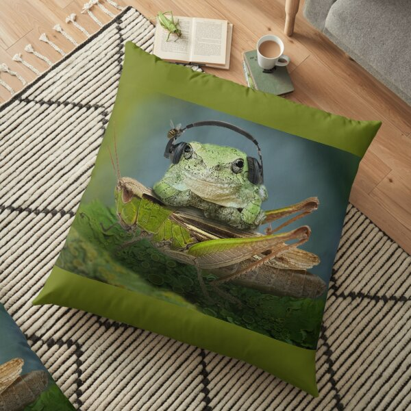Lets relax Floor Pillow