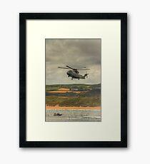Royal Navy Merlin Helicopter Framed Print