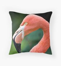 Flamingo Bird Throw Pillow