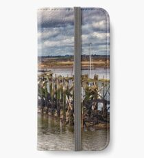 The End Of The Jetty iPhone Wallet/Case/Skin