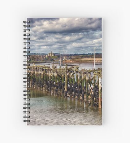 The End Of The Jetty Spiral Notebook