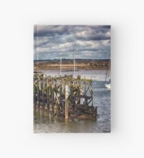 The End Of The Jetty Hardcover Journal
