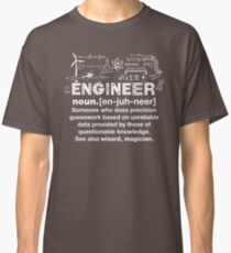 Engineer Humor Definition Classic T-Shirt