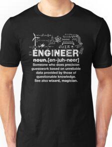 Engineer Humor Definition Unisex T-Shirt