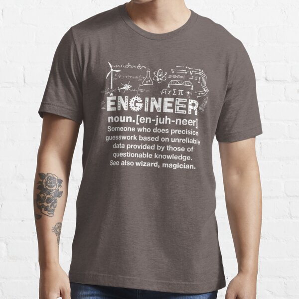 Engineer Humor Definition Essential T-Shirt