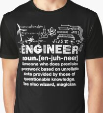 Engineer Humor Definition Graphic T-Shirt