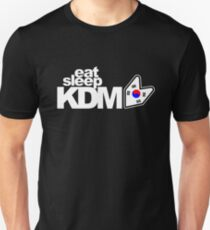 Eat Sleep KDM (1) Unisex T-Shirt
