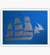 Silver sails Sticker