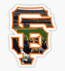 SF Giants Logo Sticker