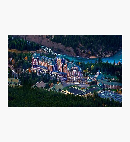 Banff Springs Hotel Photographic Print