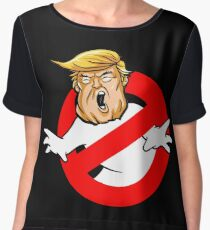 Trump busters Eeeek Chiffon Top