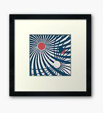 Sol levante -  sci-fi fantasy Framed Print