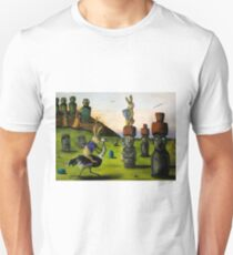 The Battle Over Easter Island Unisex T-Shirt
