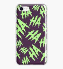 Acid Laugh iPhone Case/Skin