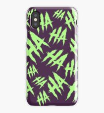 Acid Laugh iPhone Case/Skin