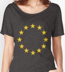 EU flag Women's Relaxed Fit T-Shirt