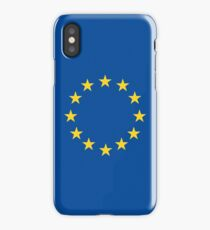 EU flag iPhone Case/Skin