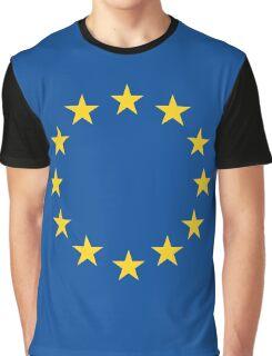 EU flag Graphic T-Shirt