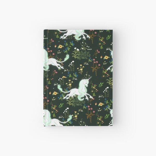 Unicorn Garden Hardcover Journal