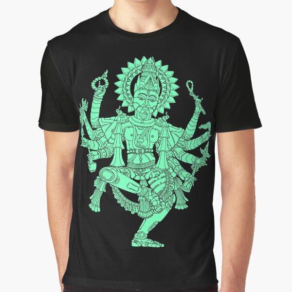 Robotic Shiva Graphic T-Shirt