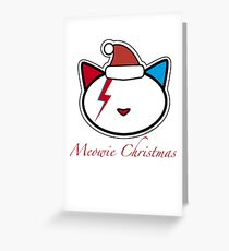 Meowie Christmas Greeting Card