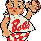 Bob's Big Boy Hamburgers Vintage Decal by hilda74