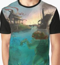Japanese water creature Graphic T-Shirt