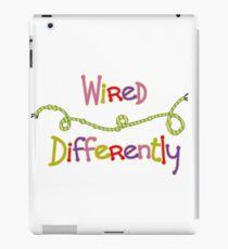 Wired Differently iPad Case/Skin
