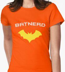 BATNERD - Super Hero Nerd Geek  Womens Fitted T-Shirt