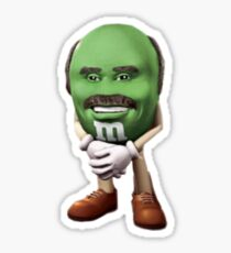 Dr Phil M&M Sticker