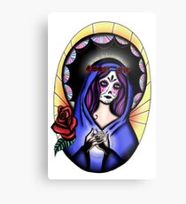 Creepy Maria Metal Print