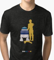Androids (White Background) Tri-blend T-Shirt