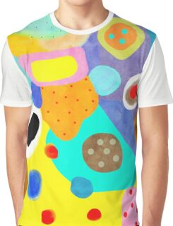 Abstract Unusual weird but wonderful colours Graphic T-Shirt