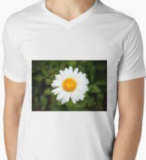 One White Daisy Men's V-Neck T-Shirt